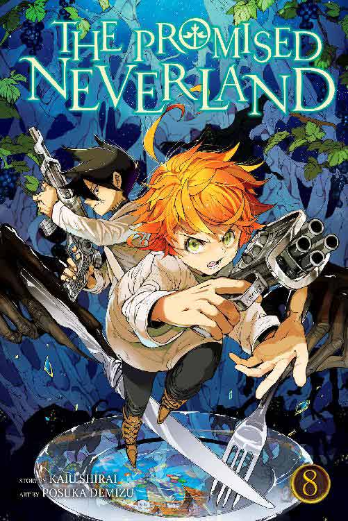 The Promised Neverland Volume 8 cover