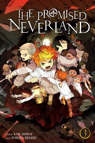 Promised Neverland Volume 3 cover