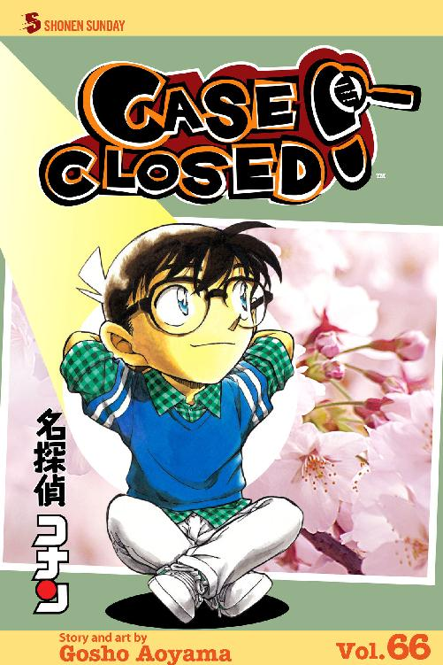 Case Closed Volume 66 cover