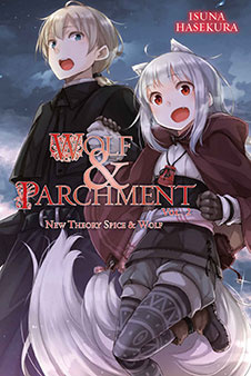 Wolf & parchment Volume 2 cover