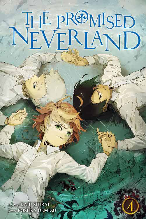 The Promised Neverland Volume 4 cover