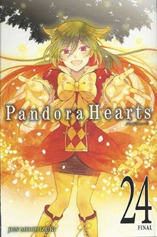 Pandora Hearts Final Volume cover