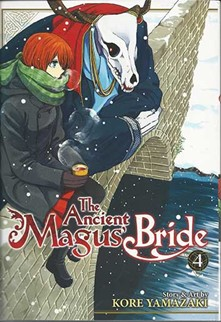 Ancient Magus Bride Volume 4 cover