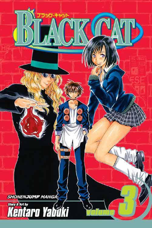 Black Cat Volume 3 cover