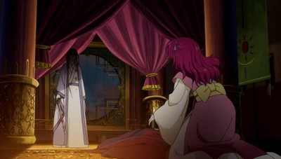 Yona finds her father dead