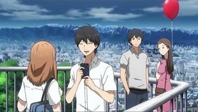 Naho & Kakeru spending time together