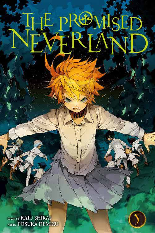 The Promised Neverland Volume 5 cover