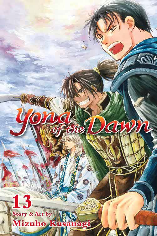 Yona of the Dawn Volume 13 cover
