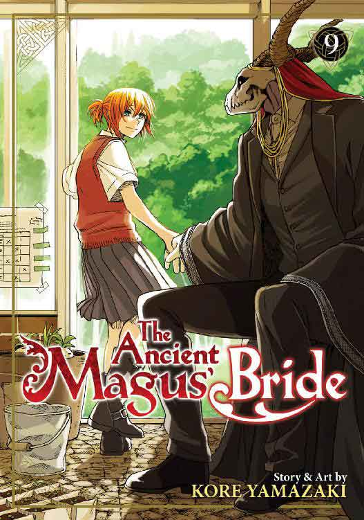 The Ancient Magus Bride Volume 9 cover