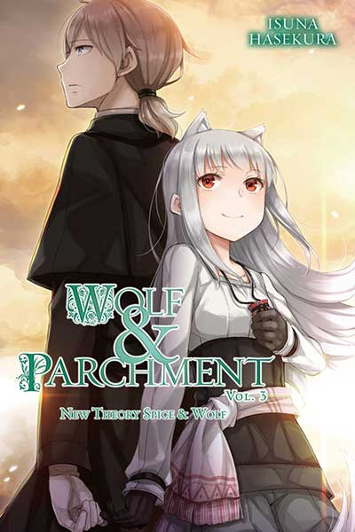 Wolf & Parchment Volume 3 cover