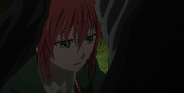 Chise answers Ainsworth.