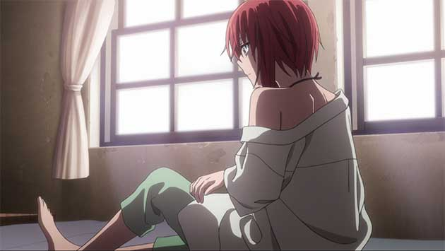 Chise waking up