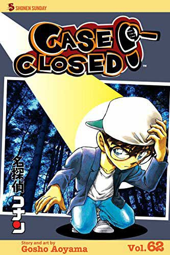 Case Closed Volume 62 cover