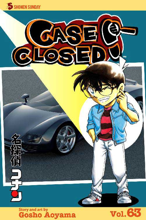 Case Closed Volume 63 cover