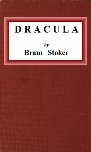 Project Gutenberg Dracula cover