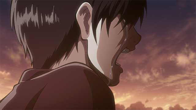 Eren Yeager crying