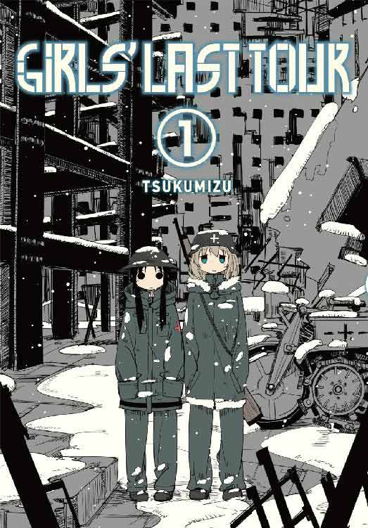 Girls' Last Tour Volume 1 cover.