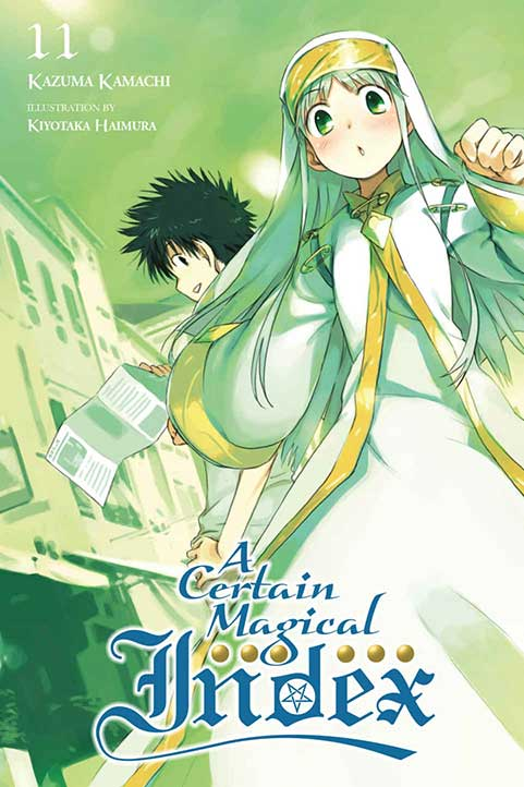 A Certain Magical Index Volume 11 cover