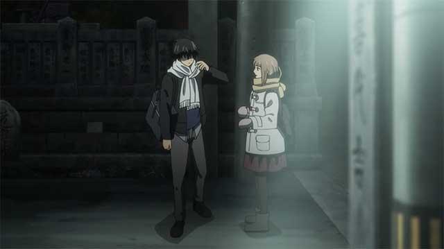 Kakeru & Naho argue