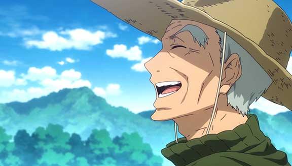 Kosaku Kotoishi laughing