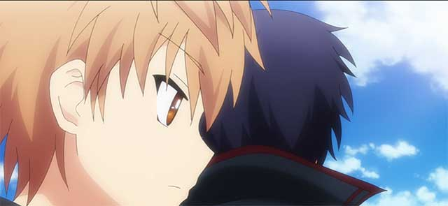 Kotaru & Sakuya talking in Kotori's domain