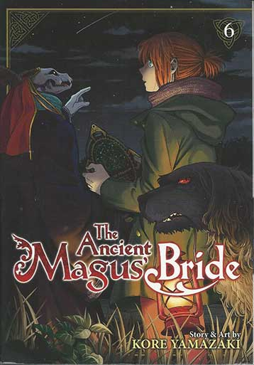 The Ancient Magus Bride Volume 6 cover