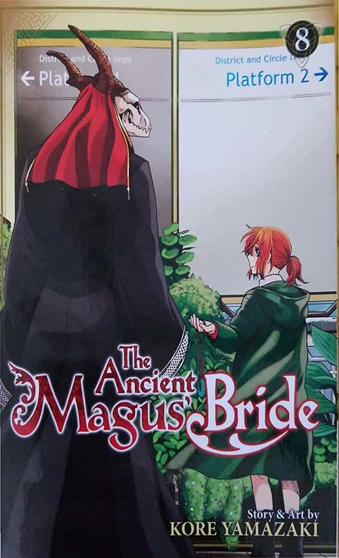 The Ancient Magus Bride Volume 8 cover