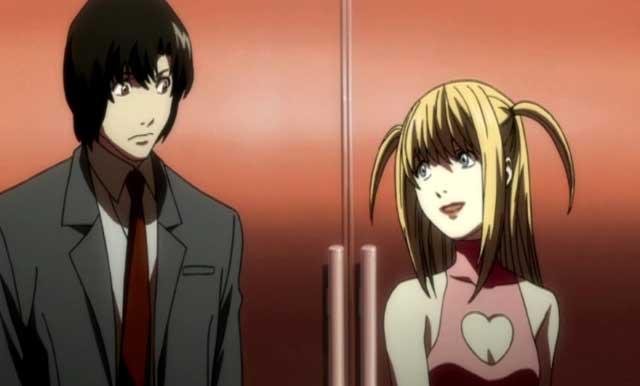 Misa talking to Matsuda