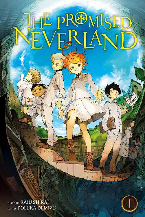 The Promised Neverland Volume 1 cover