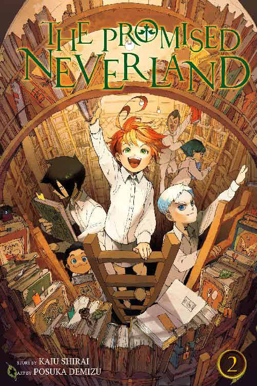 The Promised Neverland Volume 2 cover