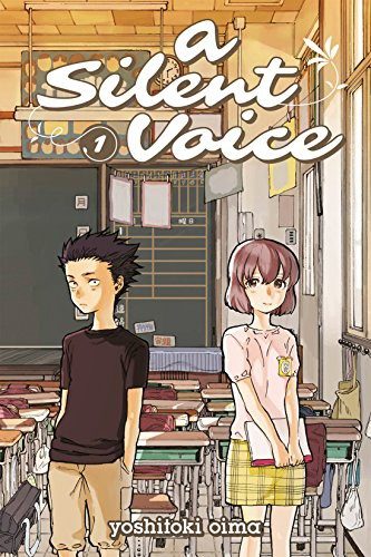 A Silent Voice Volume 1 cover