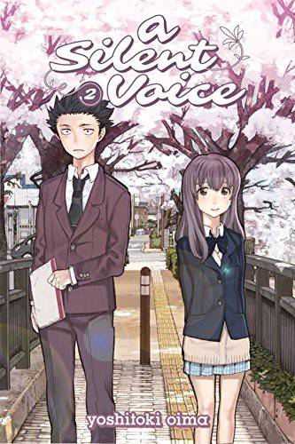 A Silent Voice Volume 2 cover