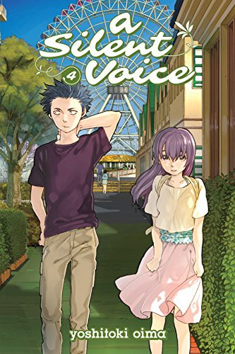 A Silent Voice Volume 4 cover