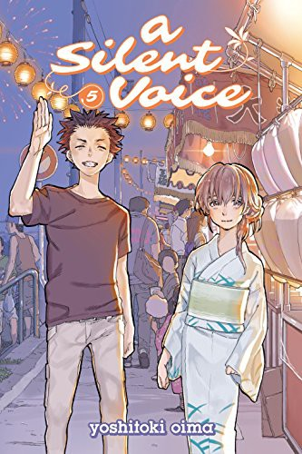 A Silent Voice Volume 5 cover
