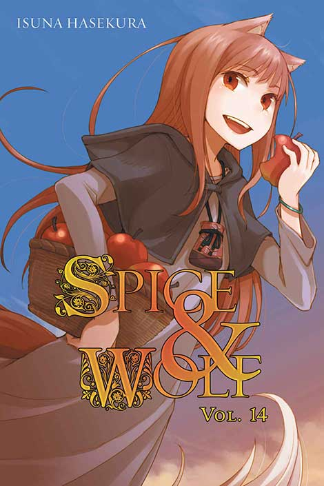 Spice & Wolf Volume 14 cover