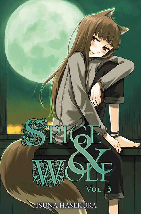 Spice & Wolf Volume 3 cover