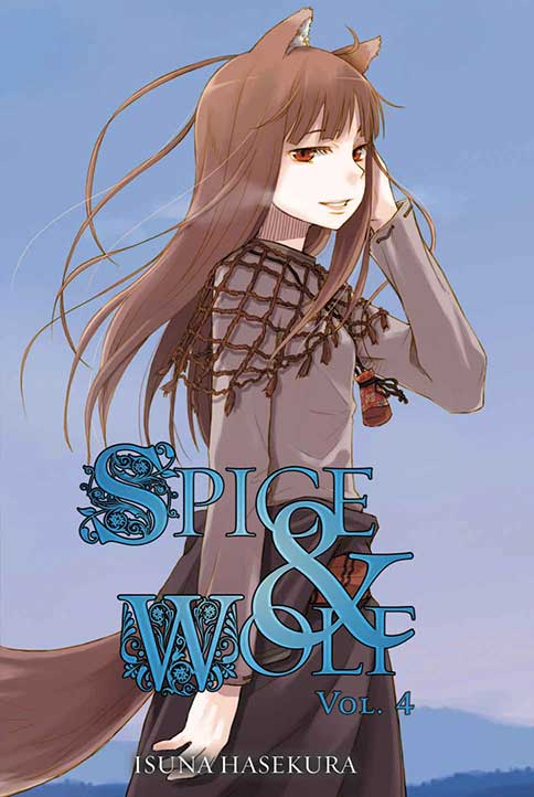 Spice & Wolf Volume 4 cover