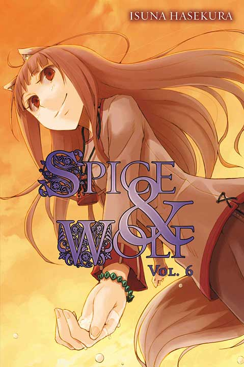 Spice & Wolf Volume 6 cover