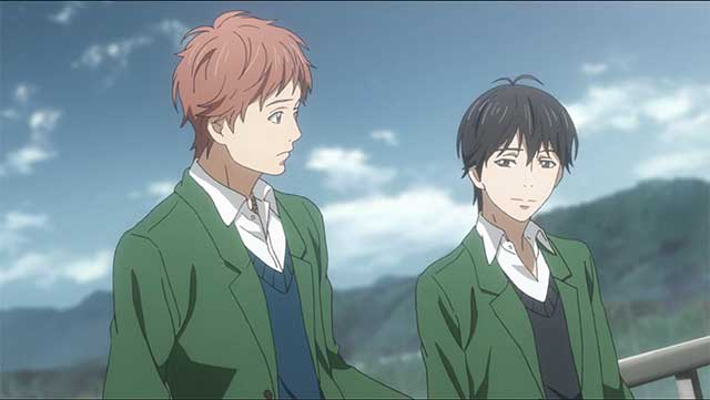 Suwa & Kakeru talking