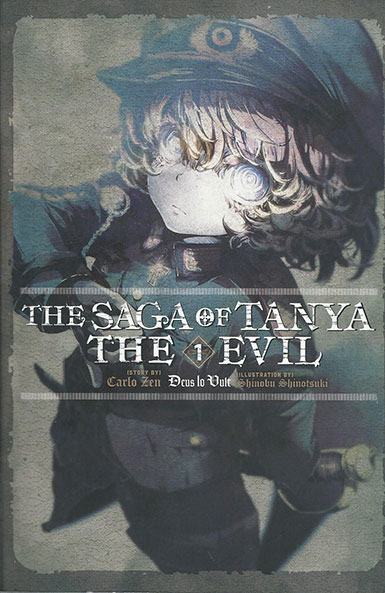 The Saga of Tanya the Evil Volume 1 cover