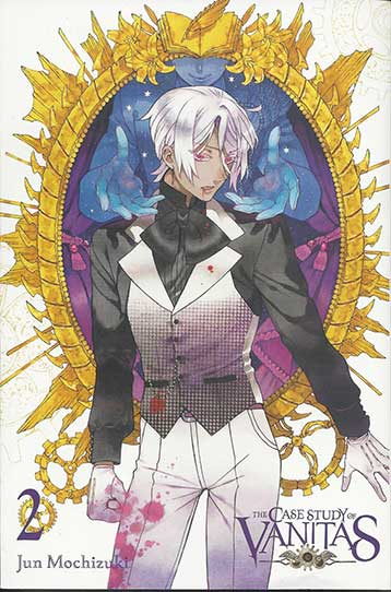 The Case Study of Vanitas Volume 2 cover