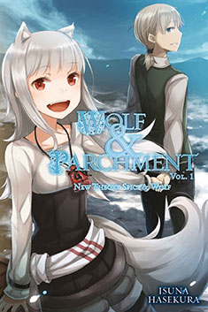 Wolf & Parchment: New Theory Spice & Wolf Volume 1 cover