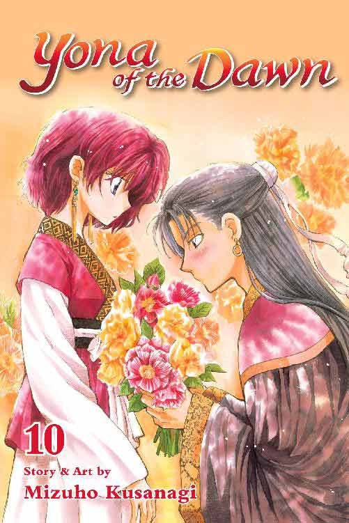 Yona of the Dawn Volume 10 cover
