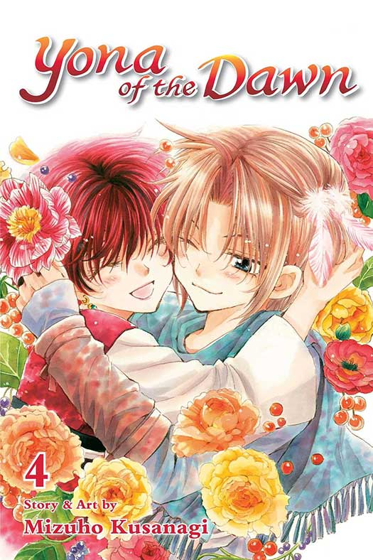 Yona of the Dawn Volume 4 cover