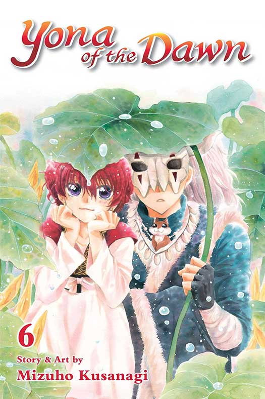 Yona of the Dawn Volume 6 cover
