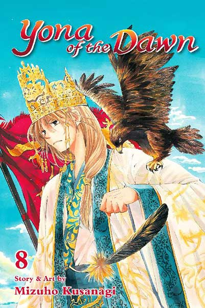Yona of the Dawn Volume 8 cover