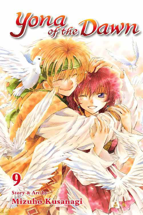 Yona of the Dawn Volume 9 cover