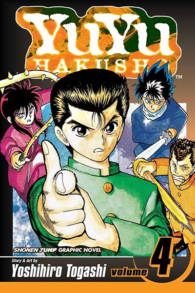 Yu Yu Hakusho Volume 4 cover