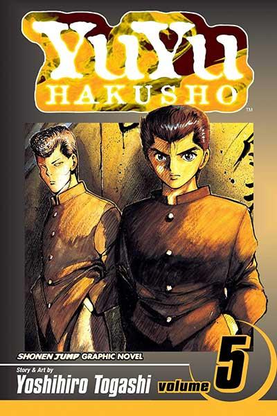 Yu Yu Hakusho Volume 5 cover