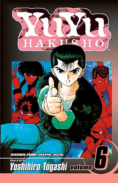 Yu Yu Hakusho Volume 6 cover